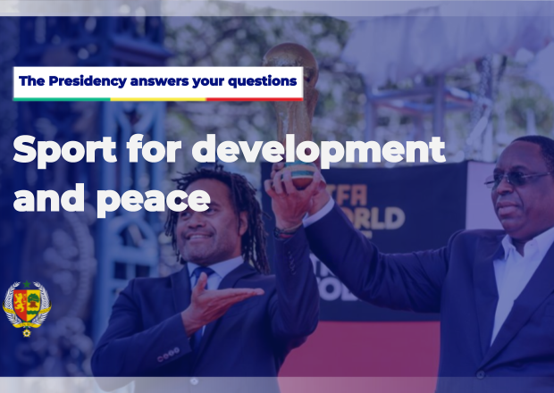 The Presidency answers your questions - Sport for development and peace