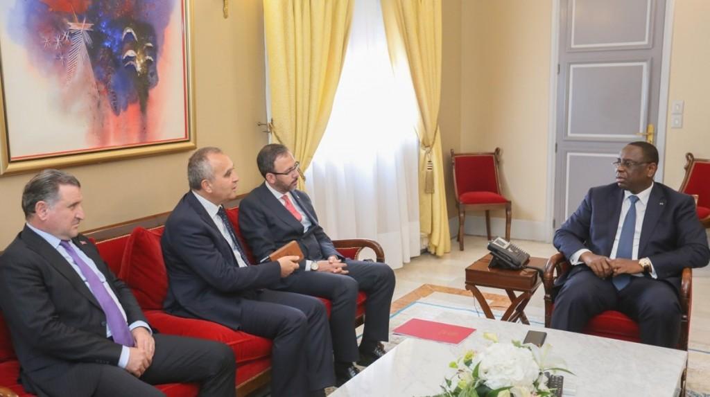 Entretien avec le Ministre des sports turc
