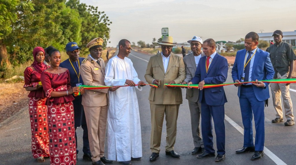 Inauguration de la route Tambacounda-Dialacoto