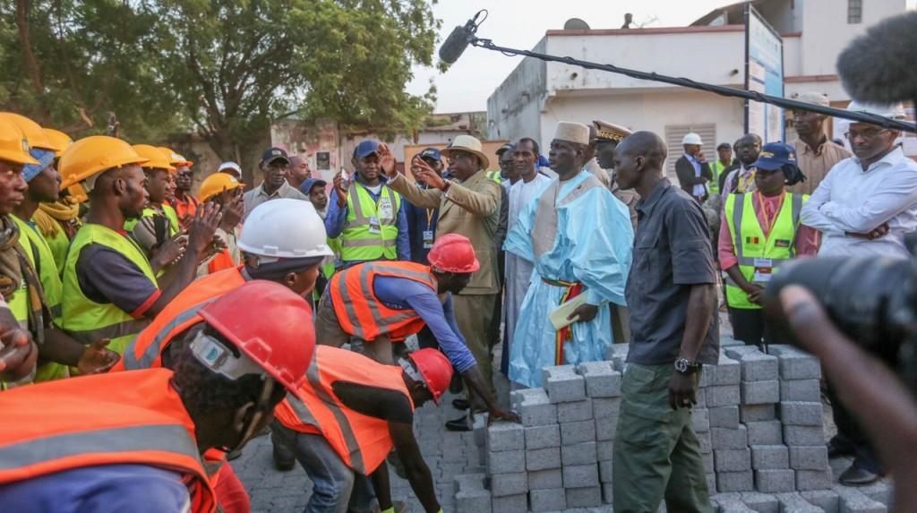 Lancement du Programme de Modernisation des Villes de la ville de Tambacounda