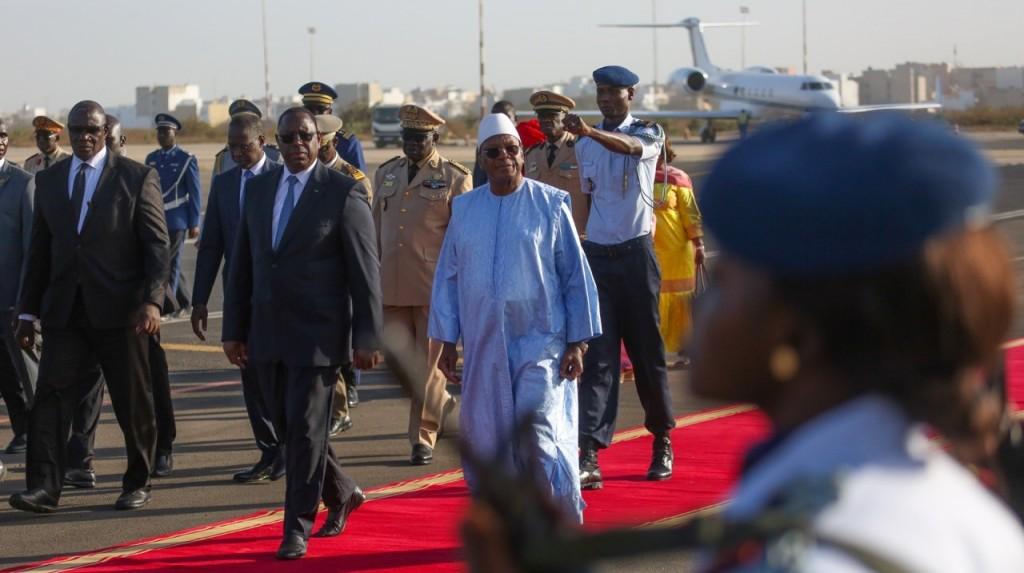 Arrivée des chefs d'Etat et de Gouvernement pour la Conférence Internationale sur l'Émergence de l'Afrique