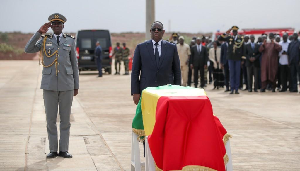Hommage au Président Ousmane Tanor Dieng au Pavillon Présidentiel AIBD